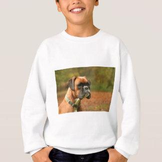 Jolie in the woods sweatshirt