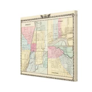 Joliet, Peru and Freeport Canvas Print