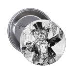 Jolly Bear Jerry - Letter J - Vintage Teddy Bear Pins