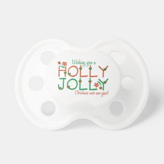 Jolly Christmas Baby Pacifiers