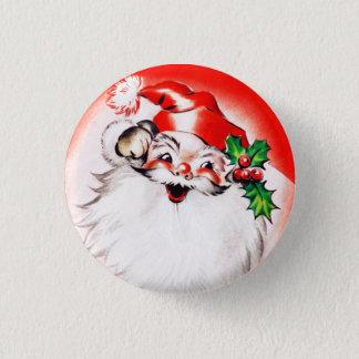 Jolly Christmas Greetings 3 Cm Round Badge