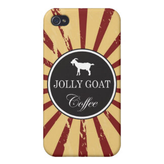 Jolly Goat Coffee iPhone 4 Case