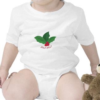 Jolly Holly Baby Creeper