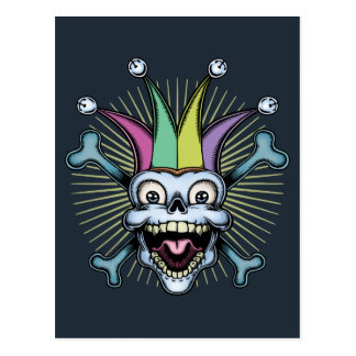 Jolly Jester Postcard