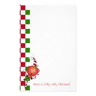 Jolly Lolly Christmas Stationery