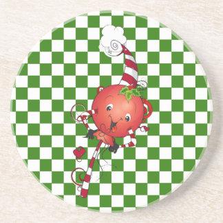 Jolly Lolly Lollipop Art Beverage Coasters