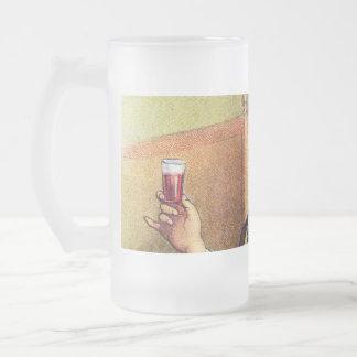 Jolly Man Toasting with Cognac Coffee Mug