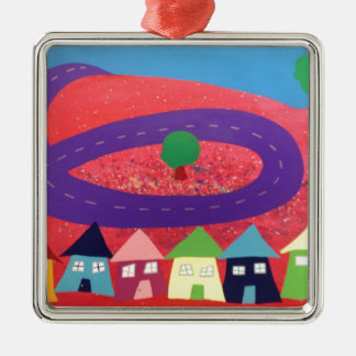 Jolly Metroplois Christmas Ornament
