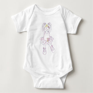 Jolly Nation Ballet Girl Baby Bodysuit
