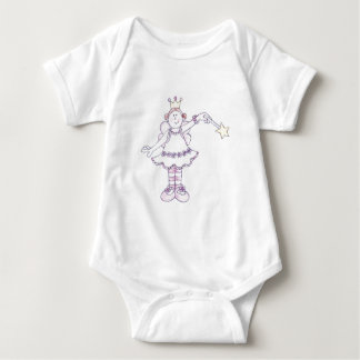 Jolly Nation Fairy Girl Baby Bodysuit