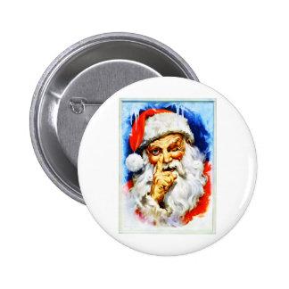 Jolly Old Saint Nick 6 Cm Round Badge