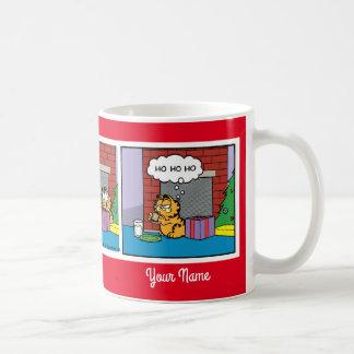 """Jolly Old Saint Nick"" Garfield Comic Strip Mug"