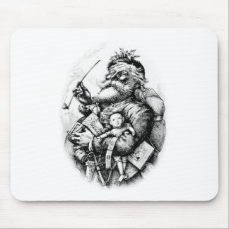 Jolly Old Saint Nick Mouse Pads