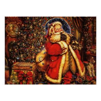 Jolly Old Saint Nick Print