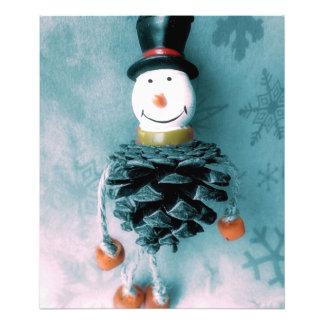 Jolly Old Snowman Photo Print