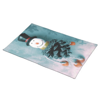Jolly Old Snowman Placemat