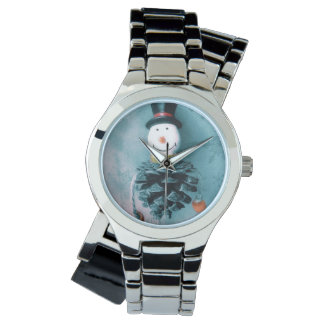 Jolly Old Snowman Watch