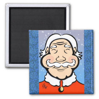 Jolly Old St Nick Magnet