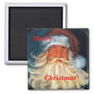Jolly-Ole-Santa, Merry, Christmas magnet