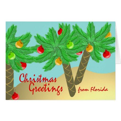 Jolly Palm Trees/ Holiday Card
