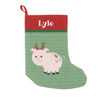 Jolly Pet Pig Personalized Stocking