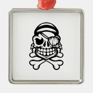 Jolly Pirate Christmas Ornament