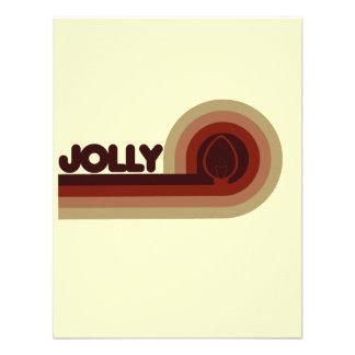 Jolly Retro Christmas Announcement