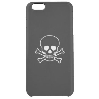Jolly Rodger Clear iPhone 6 Plus Case