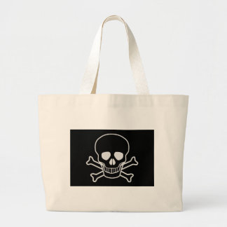 Jolly Rodger Large Tote Bag