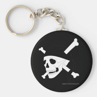 Jolly Roger #1 Key Ring