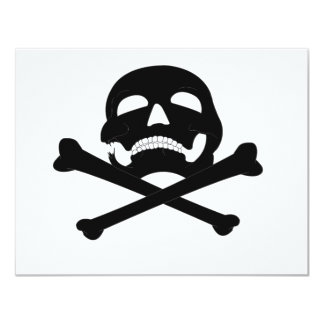 Jolly-Roger #4 4.25x5.5 Paper Invitation Card