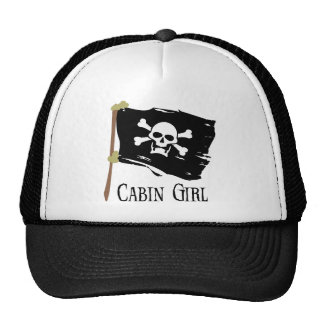Jolly Roger Cabin Girl Cap