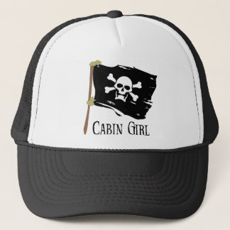Jolly Roger Cabin Girl Trucker Hat