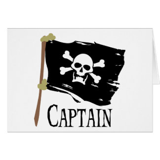 Jolly Roger Captain Card