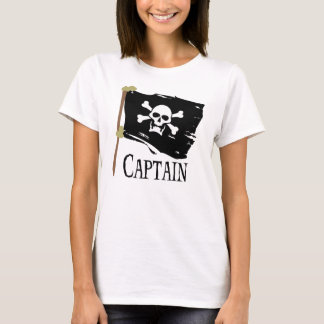 Jolly Roger Captain T-Shirt