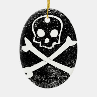 Jolly Roger Christmas Ornament