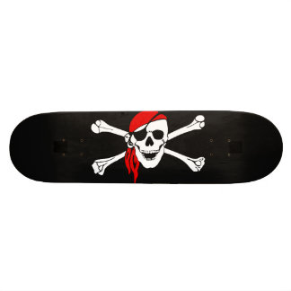Jolly Roger Custom Skate Board