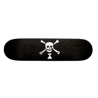 Jolly Roger Emanuel Winn Pirate Flag Skateboard