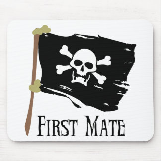Jolly Roger First Mate Mouse Pads