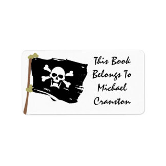 Jolly Roger Label Address Label