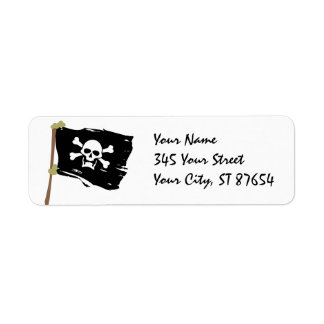 Jolly Roger Label Return Address Label