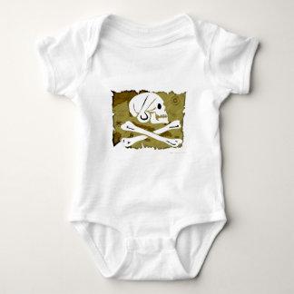 Jolly Roger Map #4 Baby Bodysuit