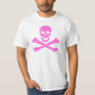 Jolly Roger Pink Tshirts