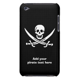 Jolly roger pirate flag barely there iPod cover