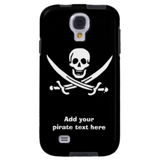 Jolly roger pirate flag galaxy s4 case