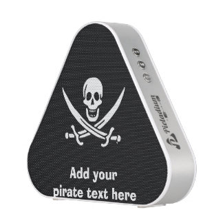 Jolly roger pirate flag speaker