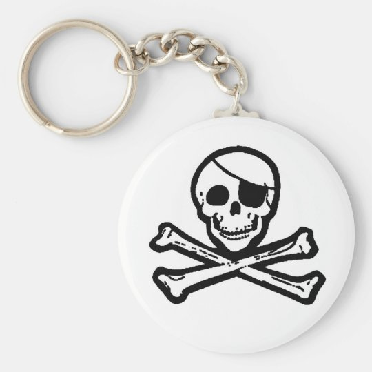 Jolly Roger Pirate Keychain