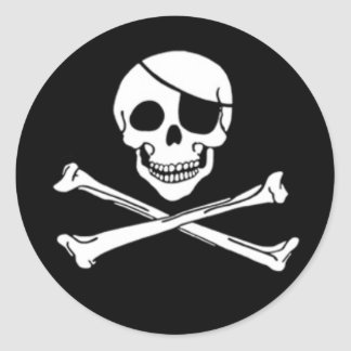 Jolly Roger Pirate Stickers