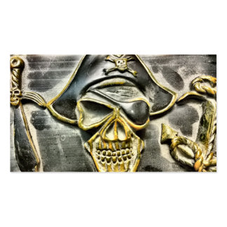 Jolly Roger Pirate Treasure Chest Pack Of Standard Business Cards