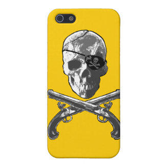 Jolly Roger Pistols Case For iPhone 5
